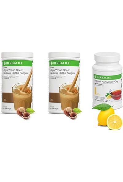 Herbalife 2 Fındık Shake - Limon Çay 50 gr
