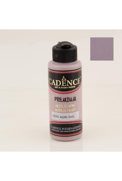 Cadence Premium Akrilik Boya 0250 - Açık Gül 120 ml