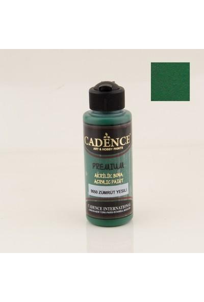 Cadence Premium Akrilik Boya 9050 - Zümrüt Yeşili 120 ml