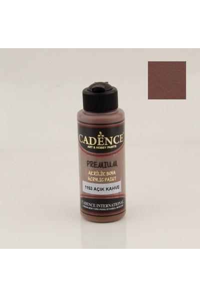 Cadence Premium Akrilik Boya 1153 - Açık Kahve 120 ml
