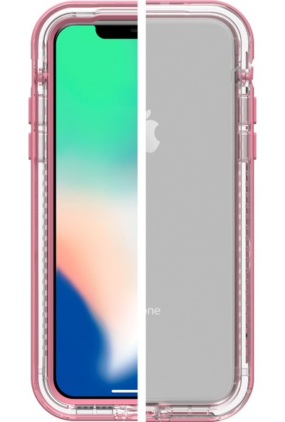 LifeProof Next Apple iPhone X Kılıf Cactus Rose