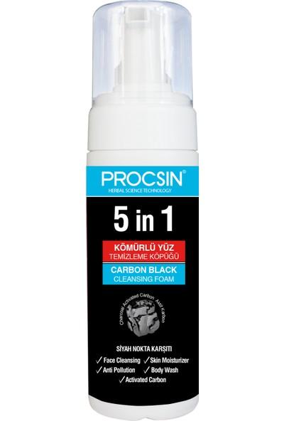 Procsin Aktif Kömürlü 5 in 1 Köpük 150 ml