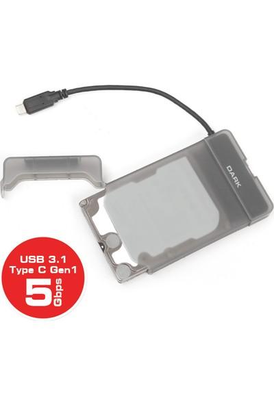 "Dark Storex E210 2.5"" USB 3.1(Gen1) Type-C SATAI/II/III SSD/SSHD/HDD Disk Kutusu (DK-AC-DSE210)"