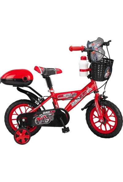 """Ümit Corvette 12"""" Bad Kit Kırmızı Çocuk Bisikleti"""