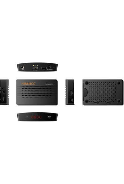 Hiremco Turbo IPTV Mini HD Uydu Alıcısı
