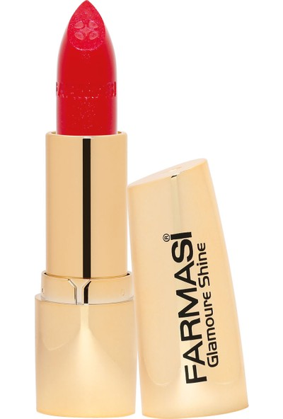 Farmasi Glamoure Shine Ruj Lovely Red 01 4 gr