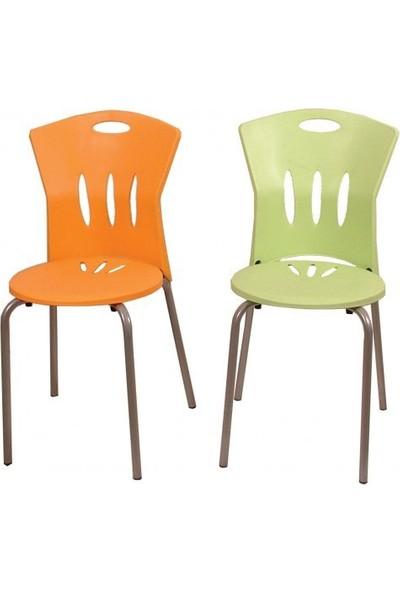 Arslan Plastik Asos Sandalye Aleyna Yeşil 1 Adet