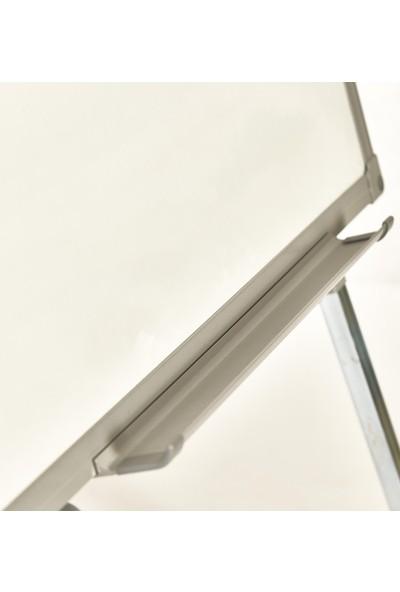 Evreka 100 x 150 Teleskopik Ayaklı Beyaz Yazı Tahtası+Kalem+Silgi