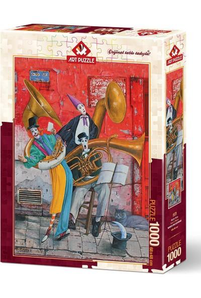 Art Puzzle 1000 Parça Müzik Ruhu