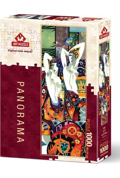 Art Puzzle Cüretkar 1000 Parça Panorama Puzzle