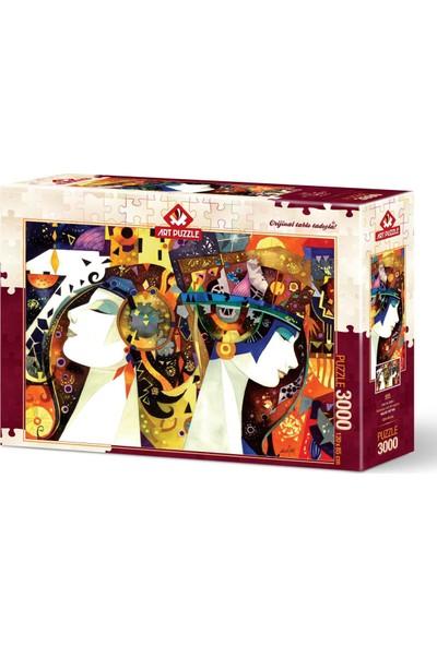 Art Puzzle 3000 Parça İnat ve Gurur