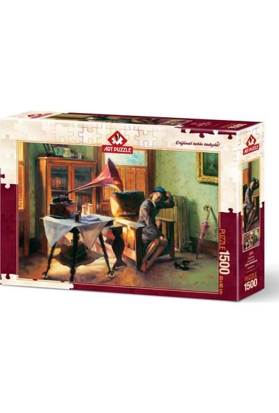 Art Puzzle 1500 Parça Gramafon