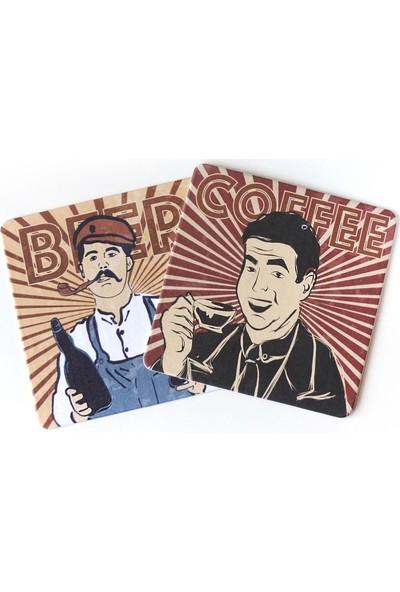 KagitoBeer & Coffee Bardak Altlığı Seti (10 Adet)
