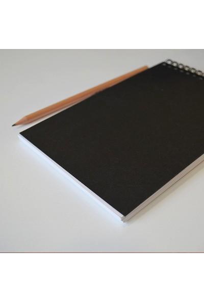Avant-Garde Beyaz Suluboya Defteri (13×19 cm, 300 gr,)