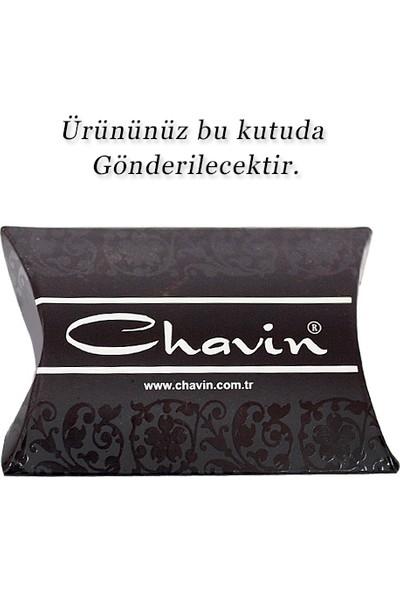 Chavin Unisex Mıknatıslı 7 Mm.Kare Taşlı Küpe Ce84-7