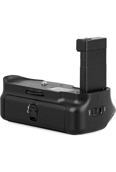 MeiKe Nikon D5500 İçin MeiKe MK-D5500 Batter Grip + 2 Ad. EN-EL14 Batarya