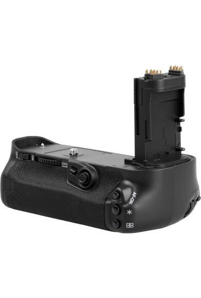 MeiKe Canon EOS 7D Mark II İçin MeiKe Batter Grip + 2 Adet LP-E6 Batarya