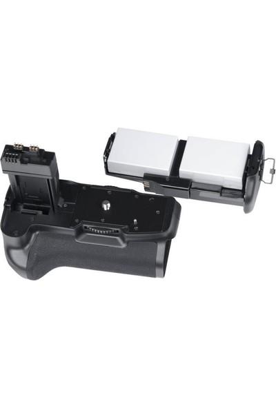 MeiKe Canon EOS 700D, 650D 600D 550D İçin MeiKe Battery Grip + 2 Ad. LP-E8 Batarya