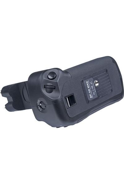 MeiKe Canon Eos 5D Mark II İçin MeiKe MK-5D II Battery Grip + 2 Ad. LP-E6 Batarya