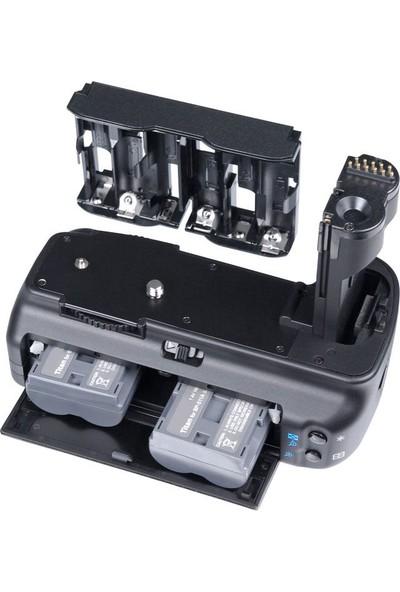 MeiKe Canon EOS 50D, 40D, 30D İçin MeiKe Battery Grip + 2 Ad. BP-511A Batarya