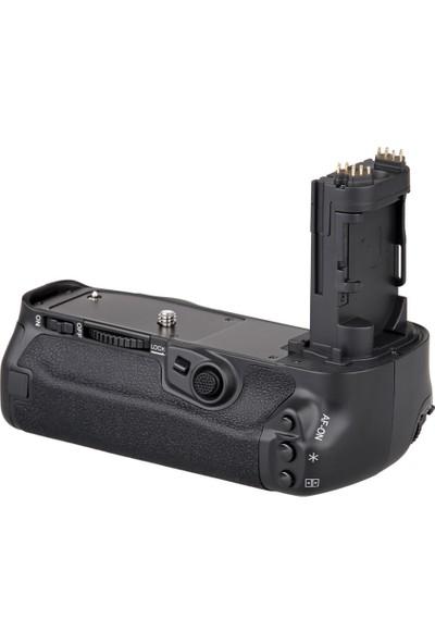 MeiKe Canon 5D Mark IV İçin MeiKe MK-5D4 Battery Grip, BG-E20 + 1 Ad. LP-E6 Batarya
