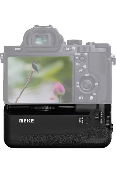 MeiKe Sony A7, A7R, A7S İçin MeiKe MK-A7 Battery Grip + 2 Adet NP-FW50 Batarya, VG-C1EM