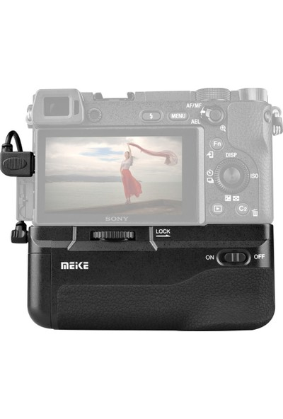 MeiKe Sony A6300 İçin MeiKe MK-A6300 Battery Grip