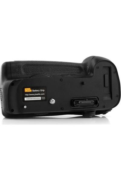 Pixel Nikon D800, D800E, D810 İçin Pixel Vertax D12 Battery Grip + 2 Ad. EN-EL15 Batarya