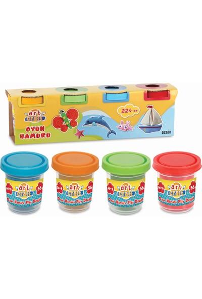 Fen Toys 03280 4'lü Oyun Hamuru 224 gr