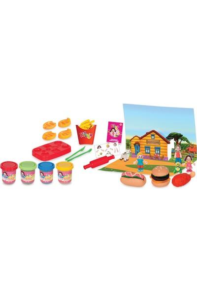 Niloya Hamburger Hamur Set