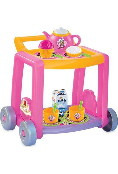 Dede Barbie Çay Servis Arabası