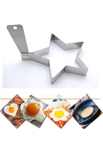 Narkalıp Yıldız Şeklinde Yumurta Ve Krep Pişirme Kalıbı