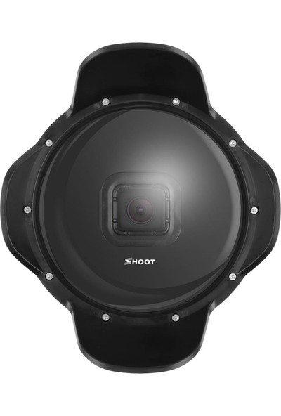 Shoot Xtgp376B Parasoley 2.0 Hero 5 Aksiyon Kameralar İçin Dome Port Şamandıra Aparatı