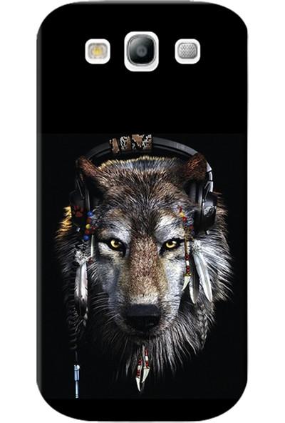 Kılıf Merkezi Samsung Galaxy Grand Neo Kılıf GT-I9060 Silikon Baskılı Animals Face STK:490