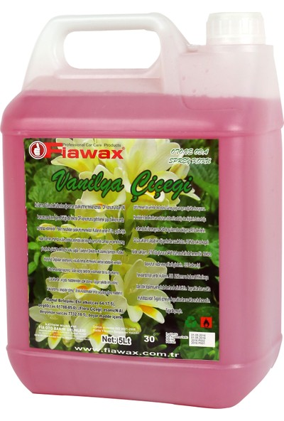 Fiawax Oto Ve Oda Parfümü 5 Lt Vanilya