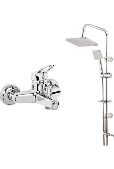 Modamix Ceylanlar Banyo Bataryası + Modamix Roma Tepeduş Seti