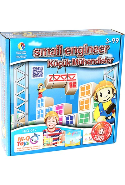 HiQ Toys Small Engineer Küçük Mühendisler Zeka Oyunu
