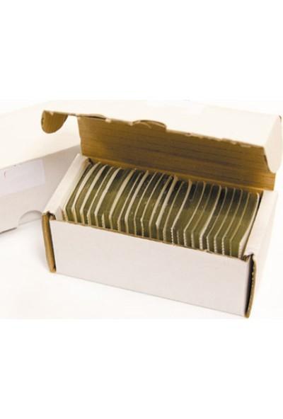 Aso Yapışkanlı Şeffaf Askı Etiketi Yaprak Tipi 500 adet HT343BOOK