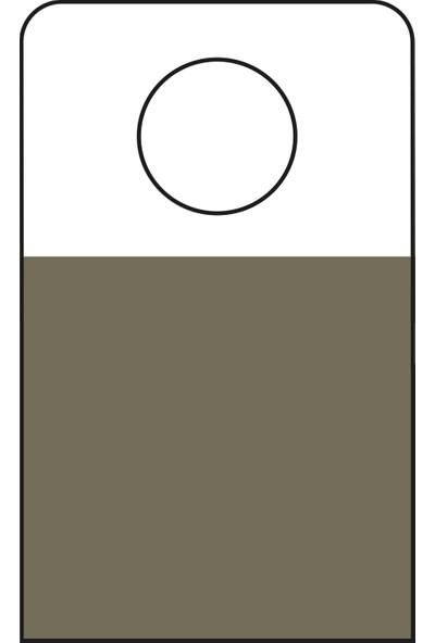 Aso Yapışkanlı Şeffaf Askı Etiketi 500 adet HT348