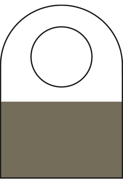 Aso Yapışkanlı Şeffaf Askı Etiketi 500 adet HT351