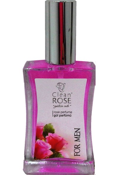 Clean Rose Gül Parfümü (Erkek) 40 cc