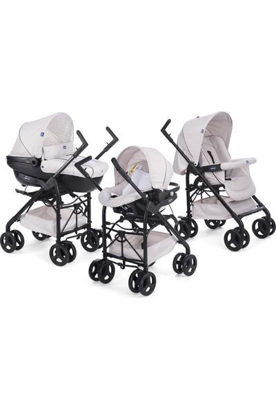 Chicco Trio Sprint Travel Sistem Bebek Arabası / Sandshell
