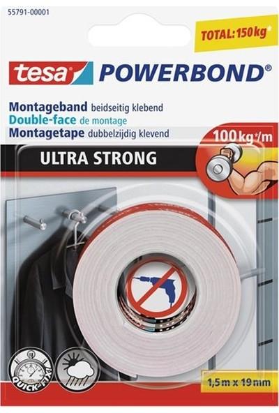 Tesa Köpük Montaj Bandı - Powerbond Ultra Güçlü 1.5m 19mm