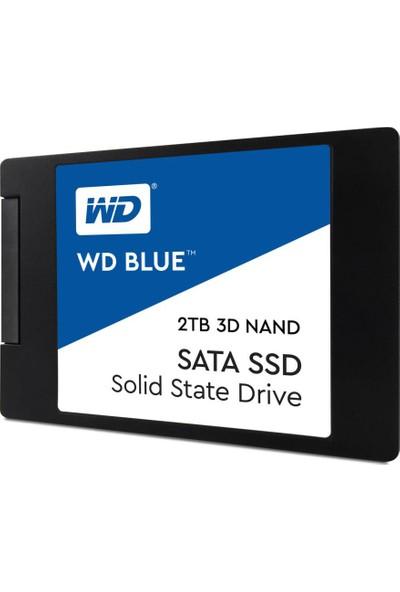 WD Sata Blue 2TB 560MB-530MB/s 2.5 Sata3 SSD (WDS200T2B0A)