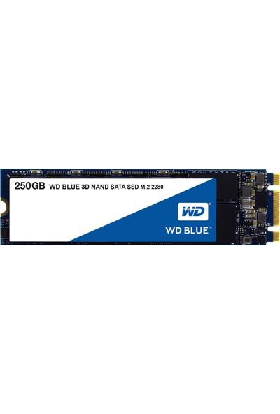 WD 250GB Sata Blue M.2 SSD WDS250G2B0B