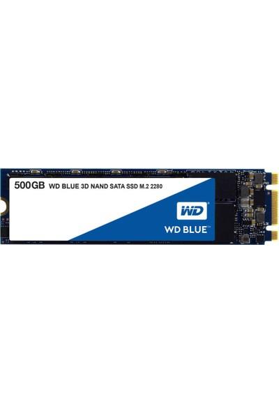 WD 500GB Sata Blue M.2 SSD WDS500G2B0B