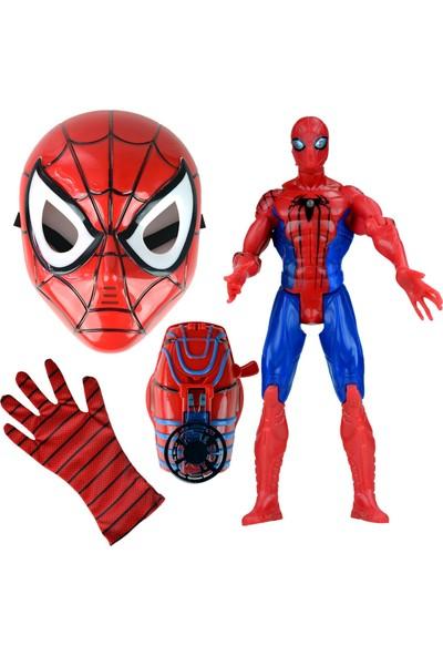 Spiderman Heroes Maskeli Oyuncak Seti Örümcek Adam