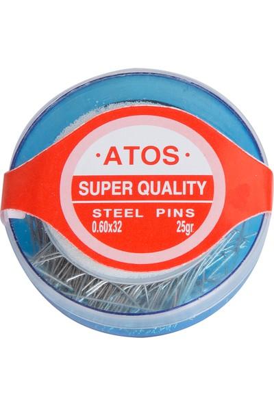 Atos Toplu İğne Çelik 25Gr
