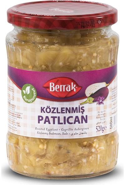 Berrak Közlenmiş Patlıcan Salatası 580 ml Cam