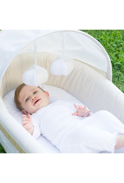 Lulyboo Amerika'dan İthal Taşınabilir Bebek Yatağı Natural - Bej